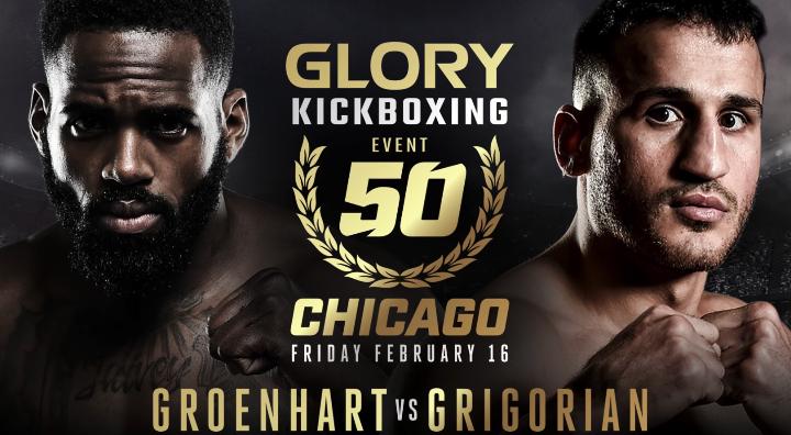 GLORY 50 Chicago: Murthel Groenhart vs. Harut Grigorian III - Tickets on sale!