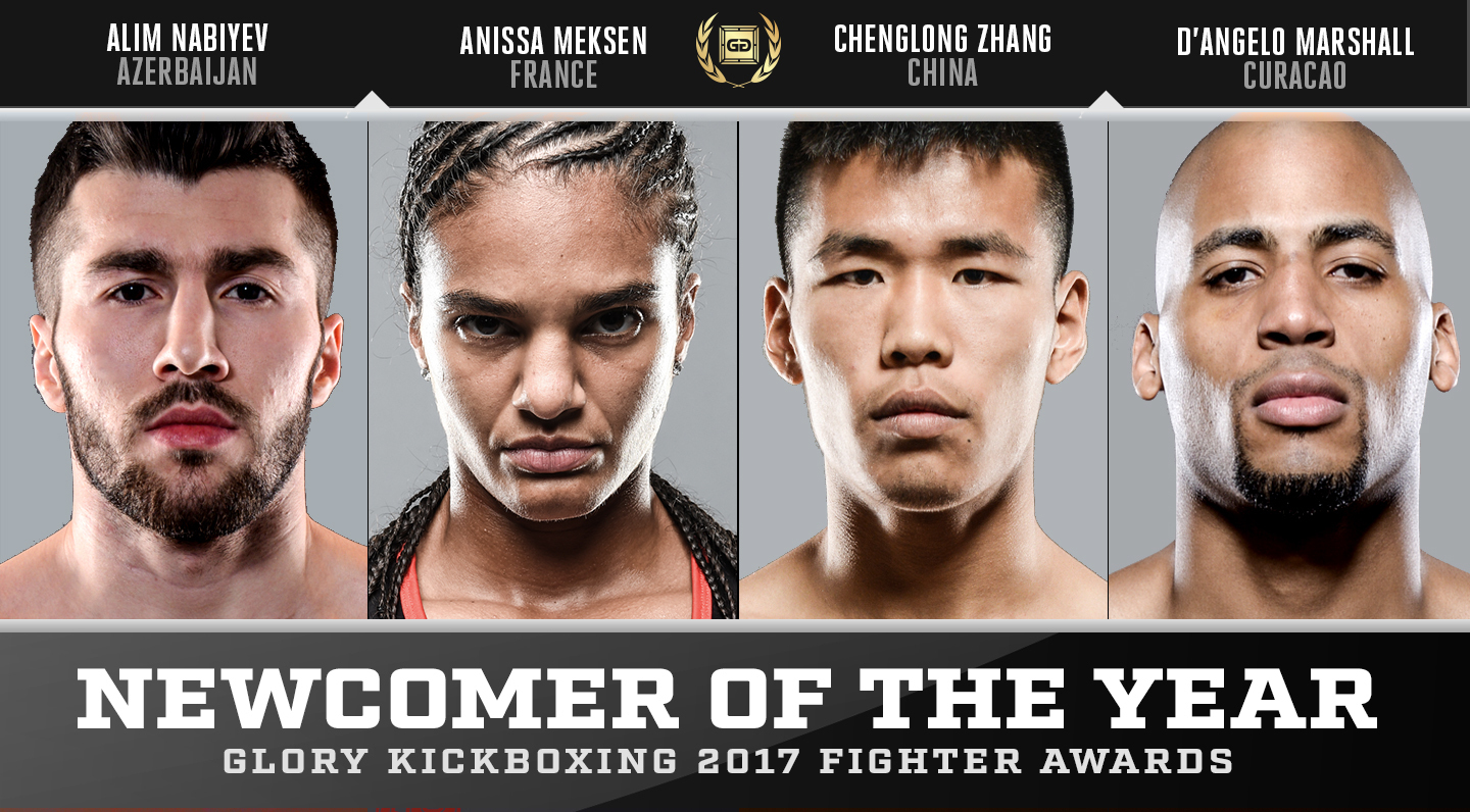 Nominations: GLORY Newcomer of the Year 2017