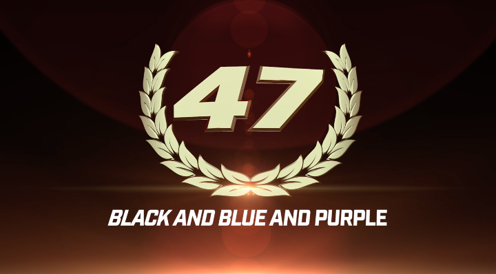 Top 50 GLORY Moments: #47 Black and Blue and Purple