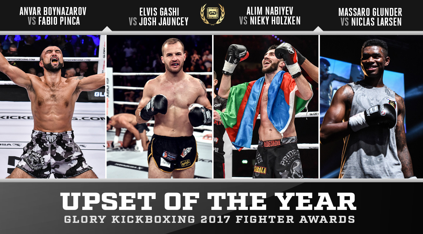 Nominations: GLORY Upset of the Year 2017