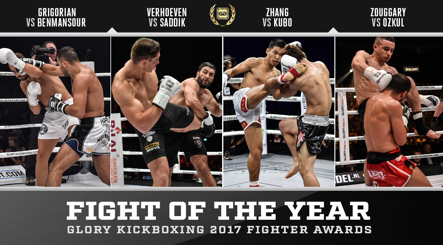Nominations: GLORY Fight of the Year 2017