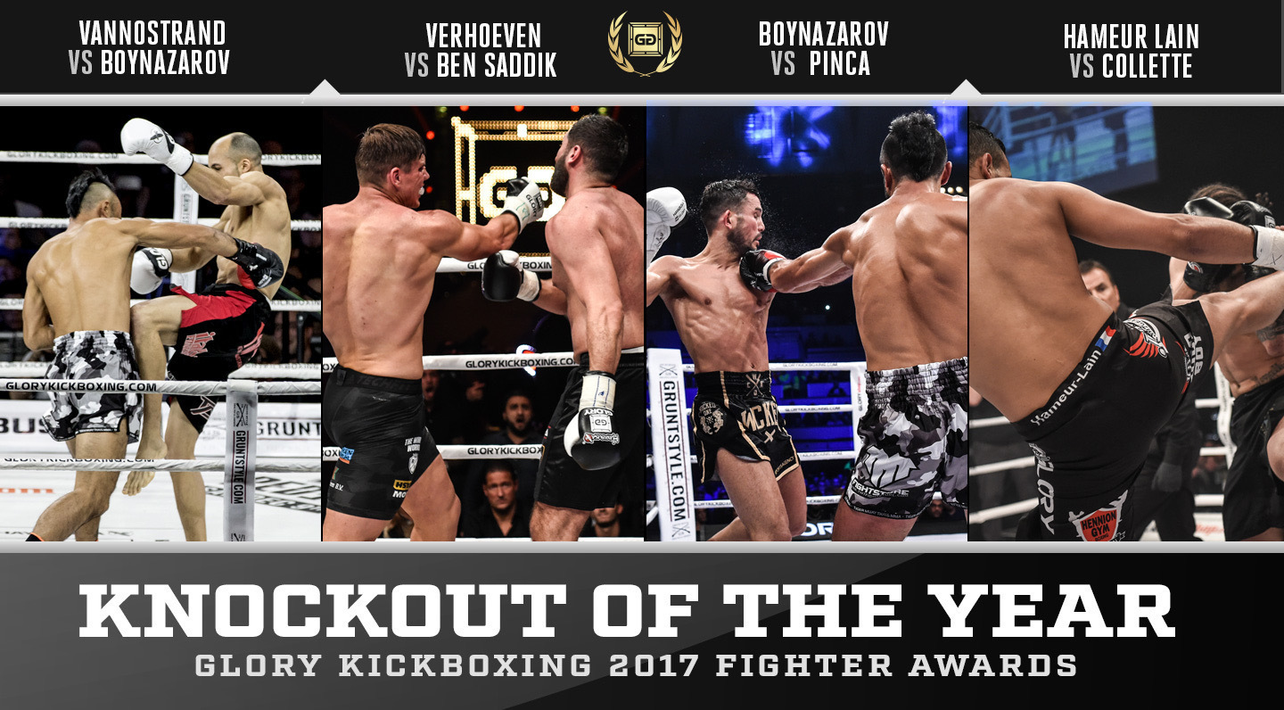 Nominations: GLORY Knockout of the Year 2017