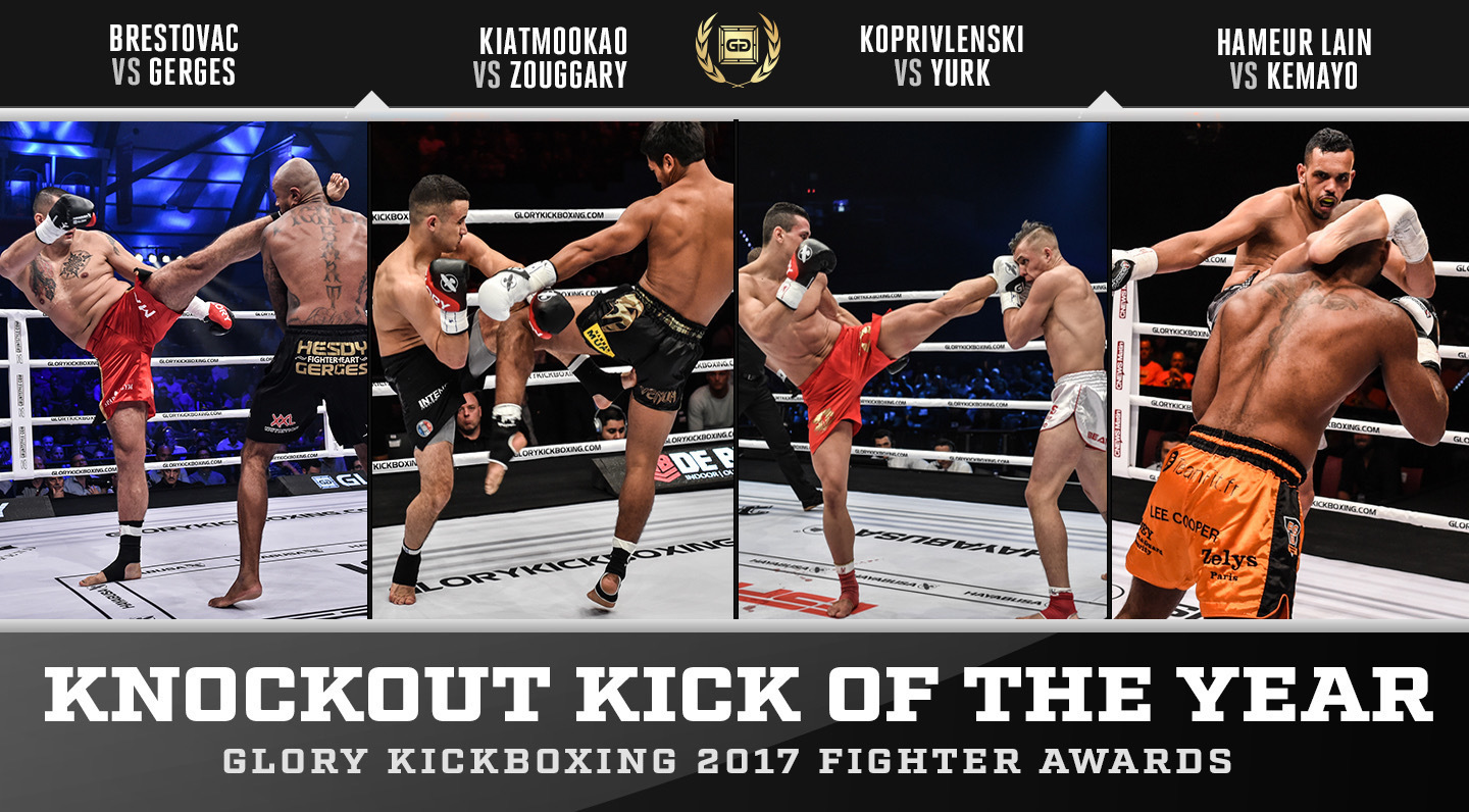 Nominations: GLORY Knockout Kick of the Year 2017