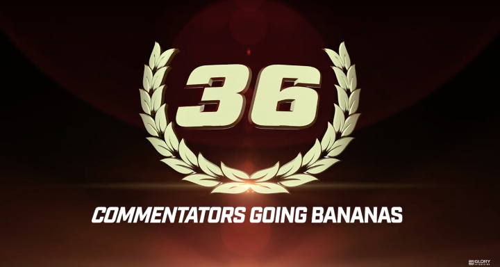Top 50 GLORY Moments: #36 Commentators Going Bananas