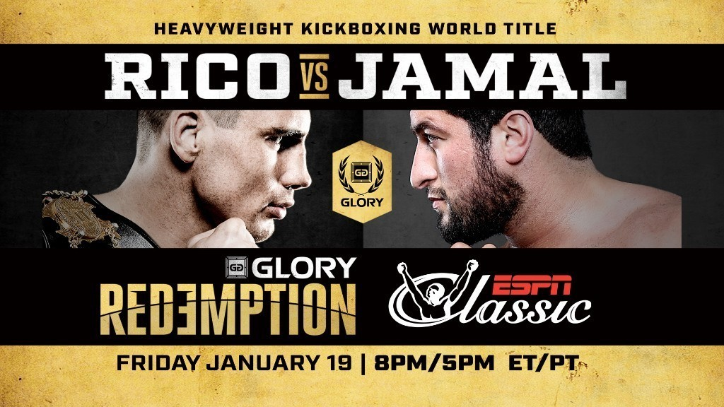 GLORY: REDEMPTION Replay Airs Free on ESPN Classic