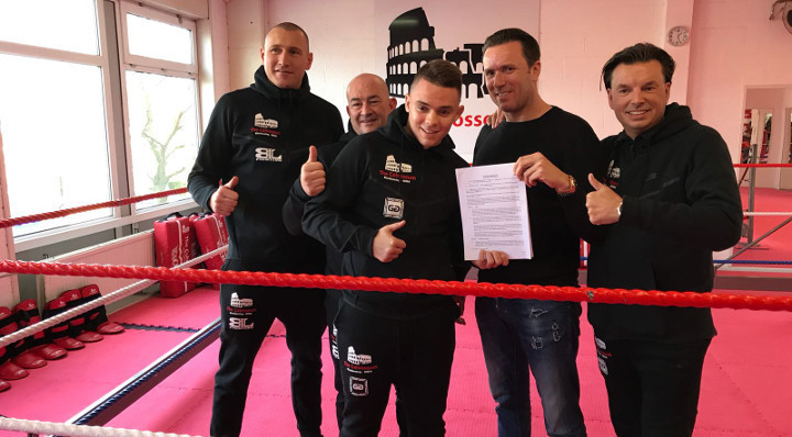 GLORY signs top prospect Mohammed Jaraya to exclusive multi-fight deal