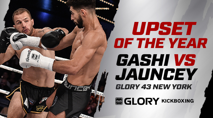 GLORY Upset of the Year 2017: Elvis Gashi