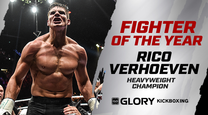 GLORY Fighter of the Year 2017: Rico Verhoeven