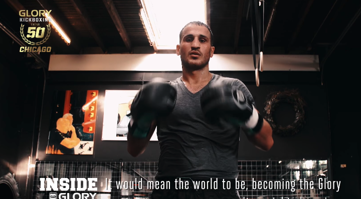 GLORY 50 Chicago: Harut Grigorian Prepares for Redemption Bout Against Murthel Groenhart