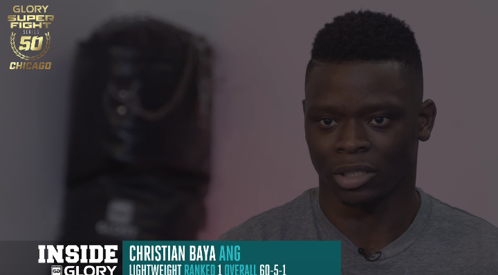 GLORY 50 Chicago: Chris Baya Recaps His Road to Lightweight Title Shot
