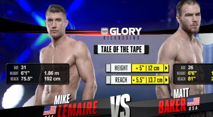 GLORY 48: Mike Lemaire vs. Matt Baker (Tournament Semi Finals) - FULL FIGHT