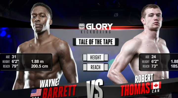 GLORY 48: Wayne Barrett vs. Robert Thomas (Tournament Semi Finals) - FULL FIGHT