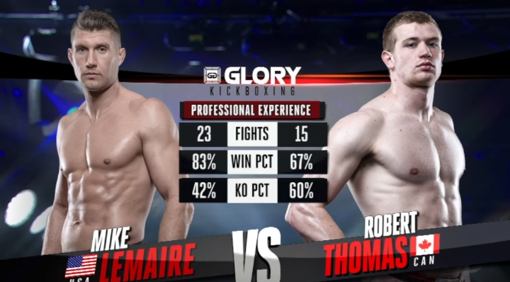 GLORY 48: Mike Lemaire vs. Robert Thomas (Tournament Finals) - FULL FIGHT