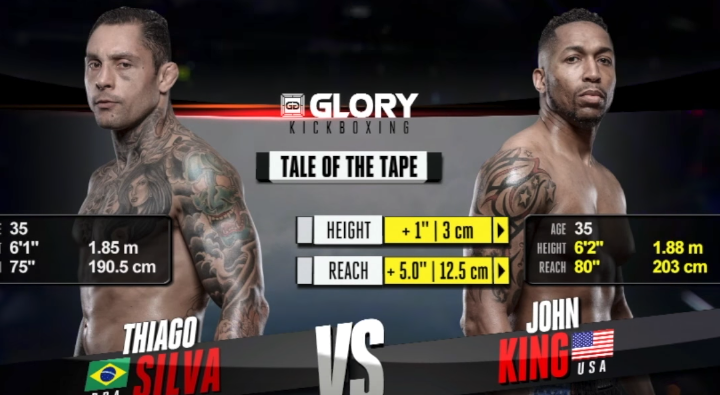 GLORY 48: Thiago Silva vs. John King - FULL FIGHT