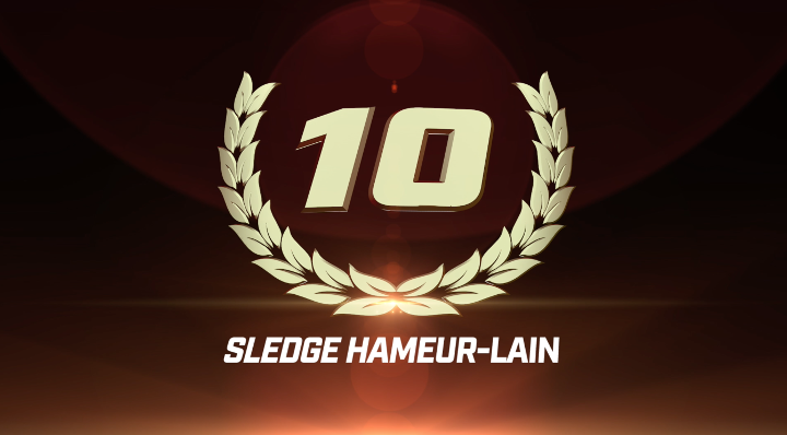 Top 50 GLORY Moments: #10 Sledge Hameur-Lain