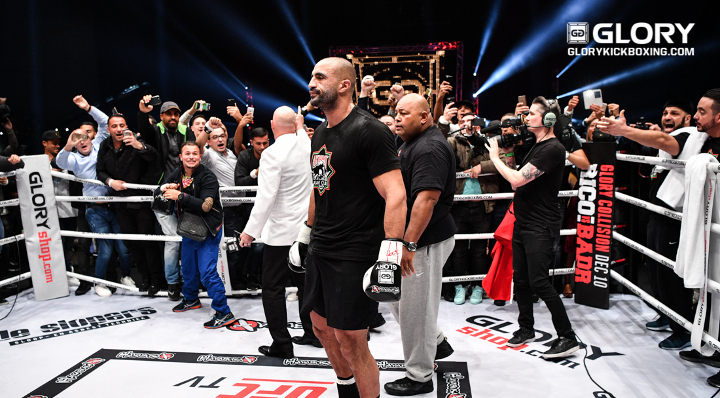 "Big Mike says Badr Hari will use Gerges fight to ""send a message to the other heavyweights"""