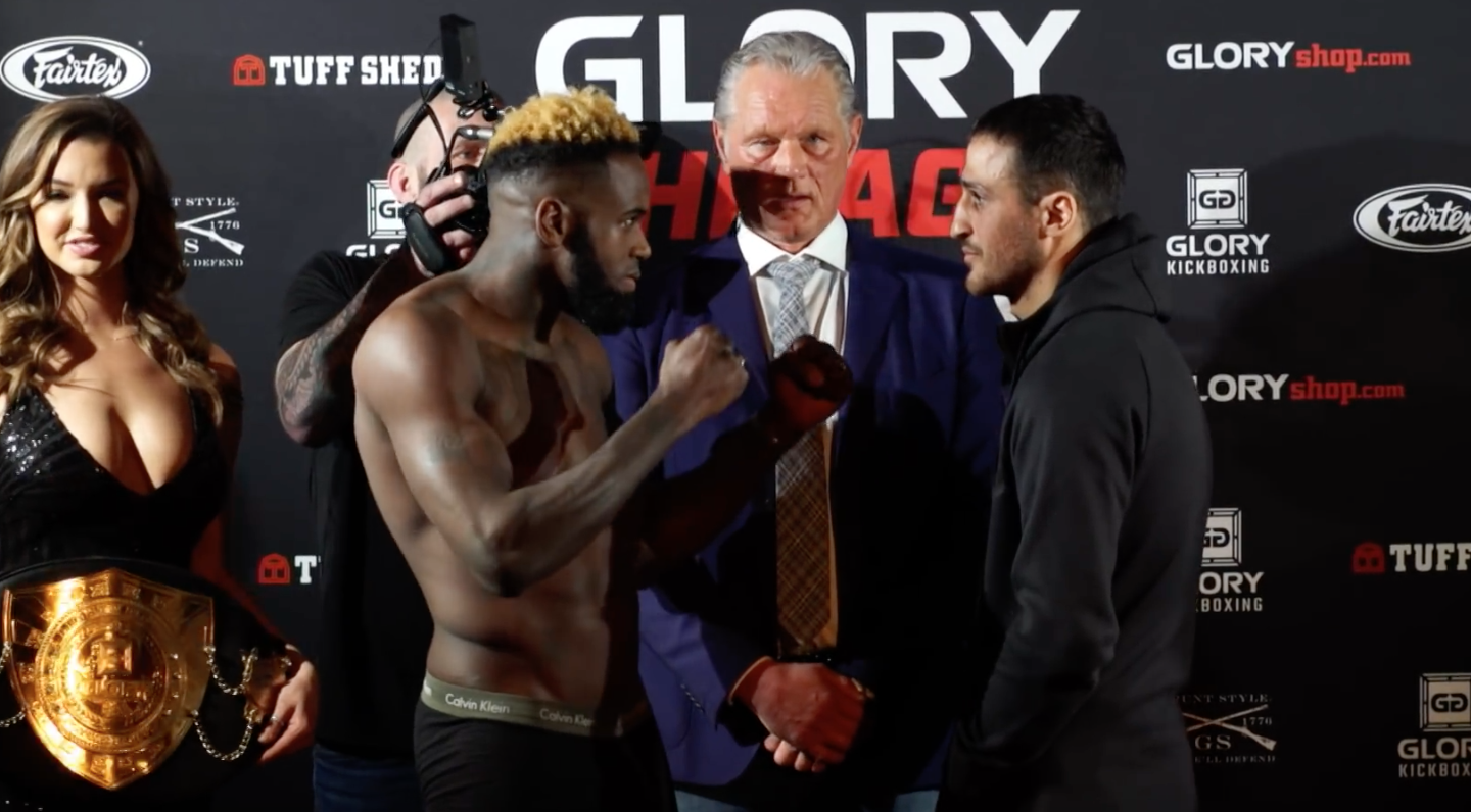 GLORY 50 Chicago: Official Weigh-Ins
