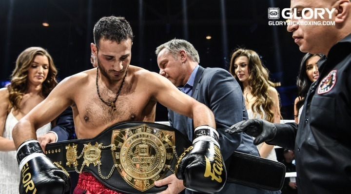 """Title win is karma"" says welterweight champion Grigorian"