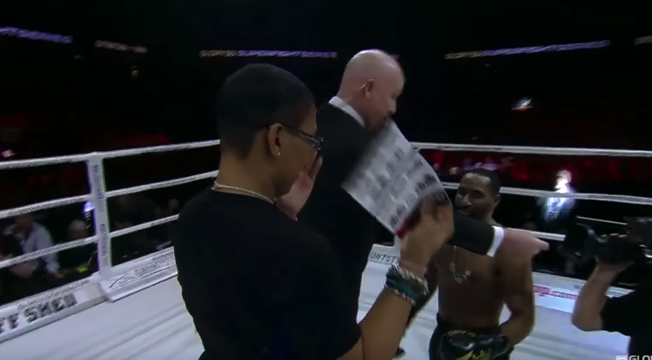 GLORY 50 Chicago: Omari Boyd Proposes to Girlfriend Following win!