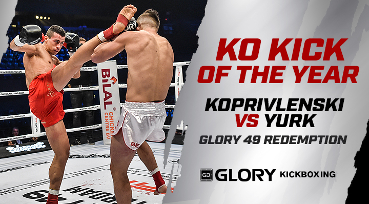 GLORY Knockout Kick of the Year 2017: Stoyan Koprivlenski