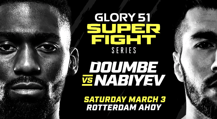 Don't Miss GLORY 51 SuperFight Series on Saturday, March 3rd!