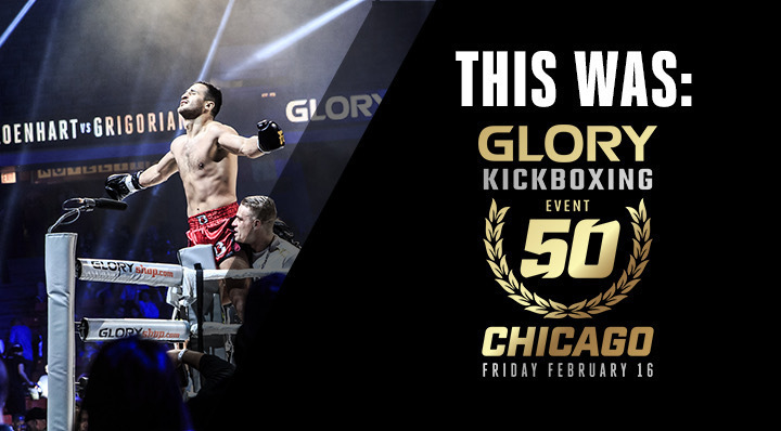 This was: GLORY 50 Chicago
