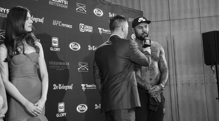 "Hesdy: ""I didn't see any fire in him"""