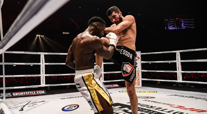 Nabiyev secures title shot with win over Doumbé