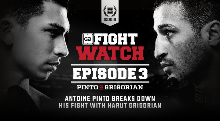 Antoine Pinto vs. Harut Grigorian (GLORY 44) | Fight Watch