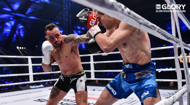 "Van Roosmalen gives VanNostrand ""0.01% chance"" of beating him at GLORY 52"