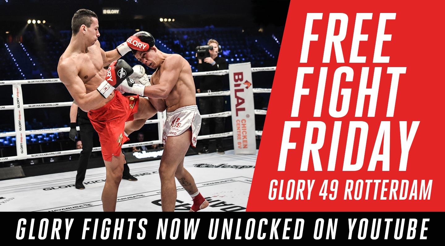 Free Fight Friday: GLORY 49 Rotterdam Fights UNLOCKED