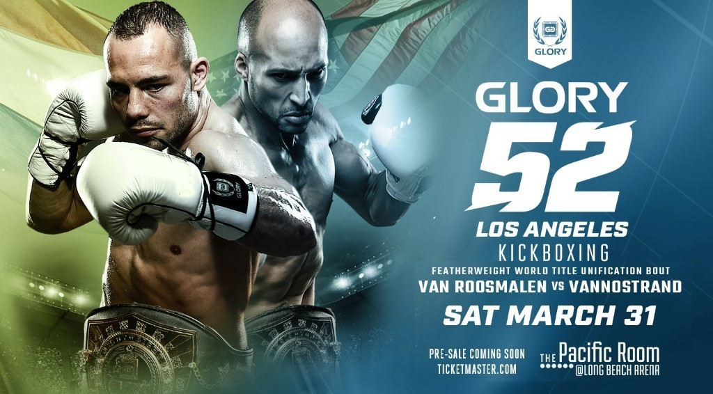 Middleweight Battle Between Simon Marcus and Zack Wells Named New GLORY 52 Los Angeles Co-Headline Bout