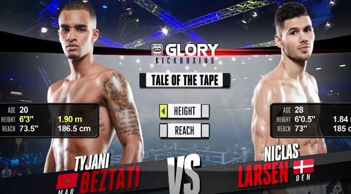 GLORY 49 Rotterdam: Tyjani Beztati vs. Niclas Larsen (Tournament Semi Finals) - FULL FIGHT