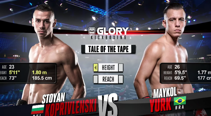 GLORY 49 Rotterdam: Stoyan Koprivlenski vs. Maykol Yurk (Tournament Semi Finals) - FULL FIGHT