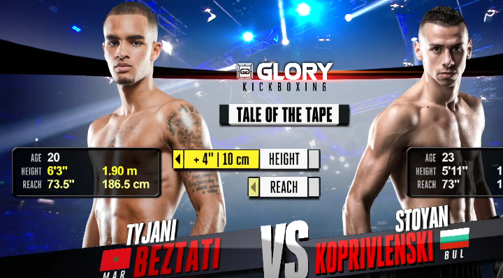 GLORY 49 Rotterdam: Tyjani Beztati vs. Stoyan Koprivlenski (Tournament Finals) - FULL FIGHT