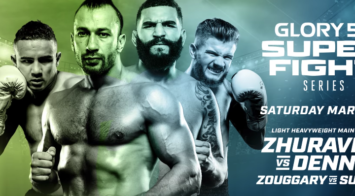 GLORY 52 SuperFight Seres | March 31st on UFC Fight Pass