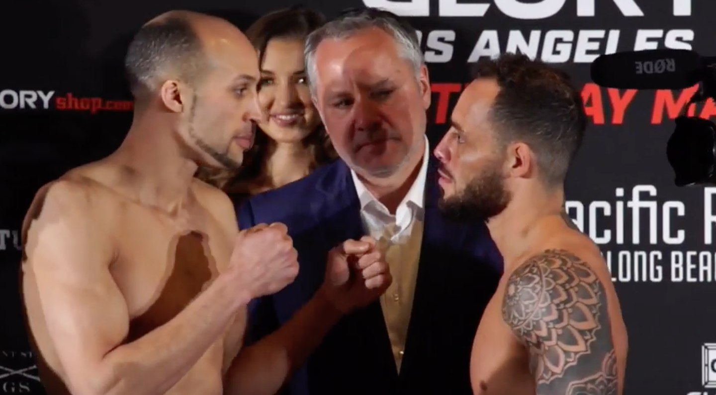 GLORY 52 Los Angeles: Official Weigh-Ins