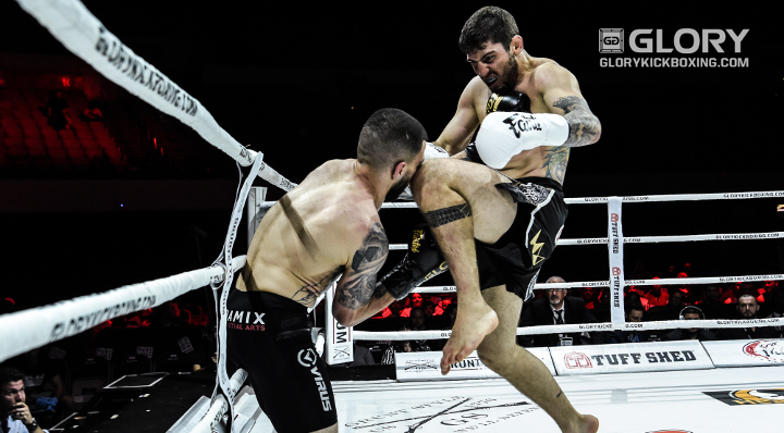 Estrazulas steals the show on GLORY 52 Preliminary Card