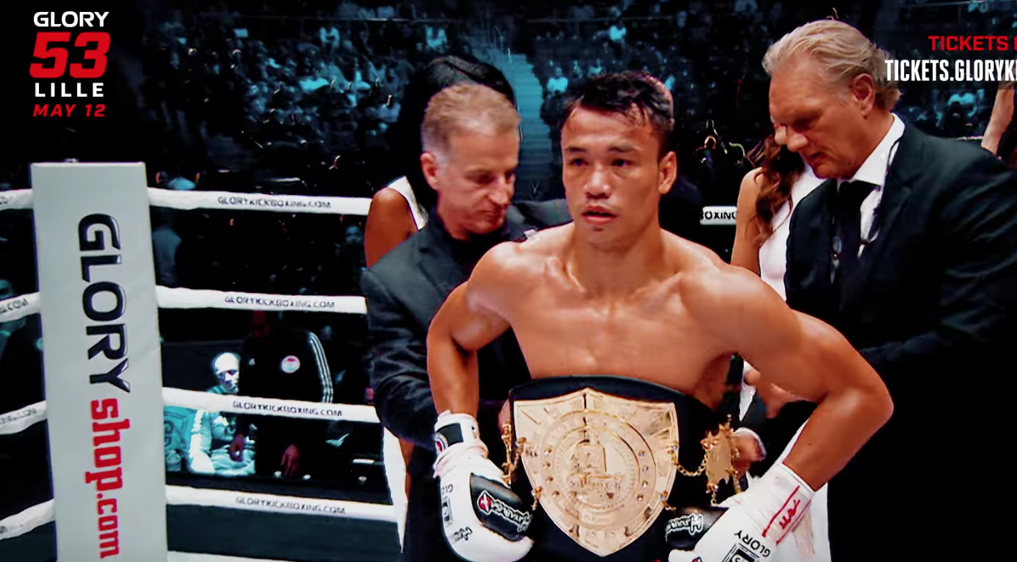 Two world titles are on the line at GLORY 53 Lille