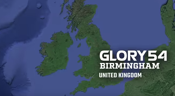 GLORY 54 Birmingham: Official Announcement