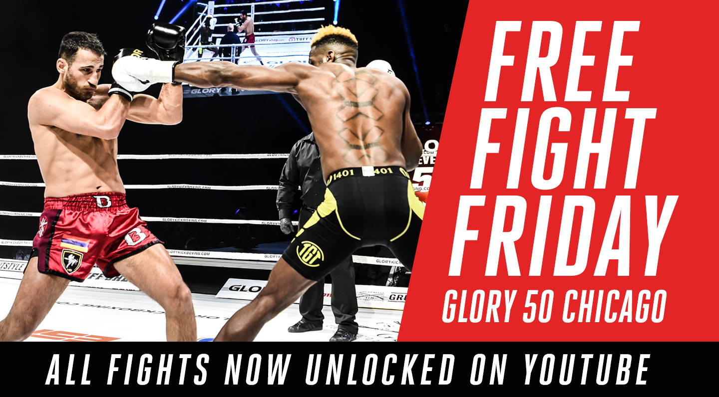 Free Fight Friday: GLORY 50 Chicago Fights Unlocked