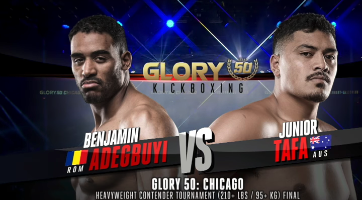 GLORY 50: Benjamin Adegbuyi vs. Junior Tafa (Tournament Finals) - FULL FIGHT