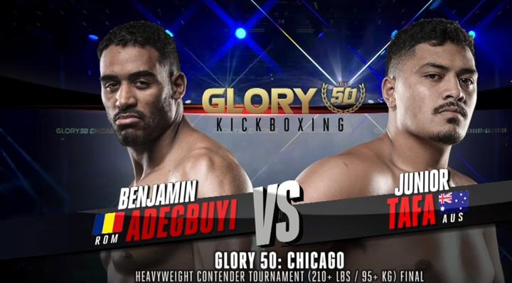 GLORY 50: Benjamin Adegbuyi vs. Junior Tafa (Tournament Finals) - FULL FIGHT