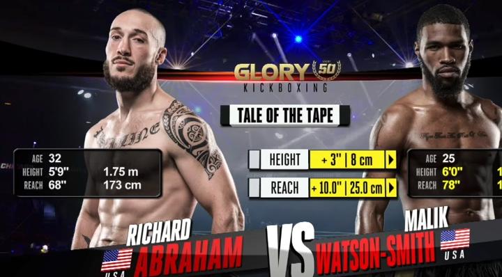 GLORY 50: Richard Abraham vs. Malik Watson-Smith - FULL FIGHT