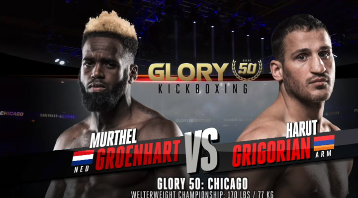 GLORY 50: Murthel Groenhart vs. Harut Grigorian (Welterweight Title Match) - FULL FIGHT