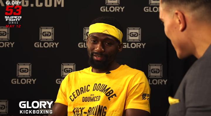 GLORY 53: Cedric Doumbé reflects on welterweight title reign