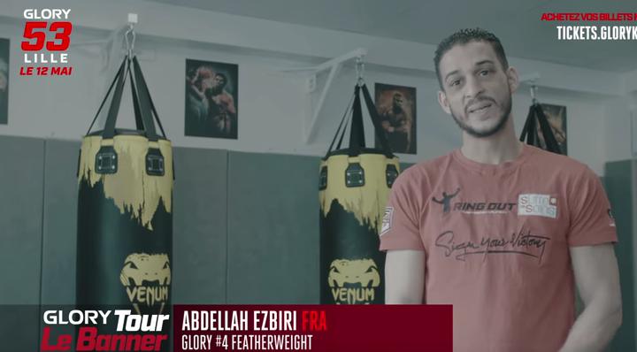 Tour Le Banner: Abdellah Ezbiri dans la route vers GLORY 53 Lille