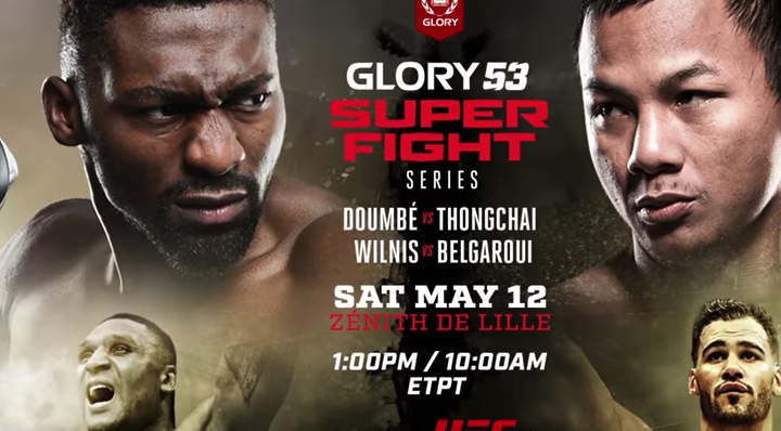 GLORY 53 SuperFight Series, May 12 | LIVE on UFC Fight Pass