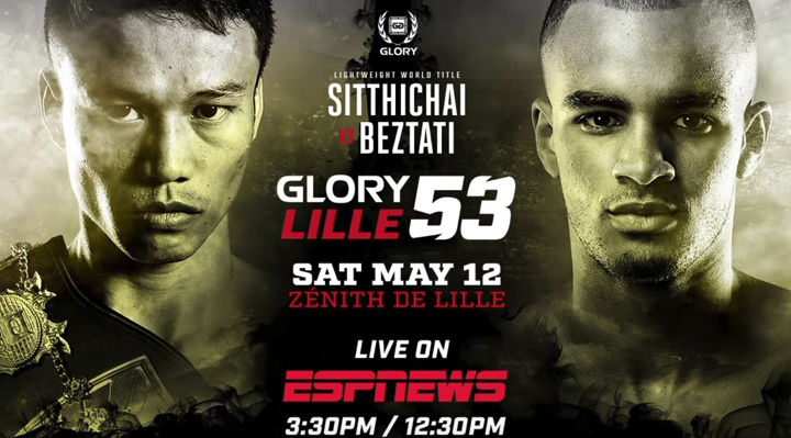 GLORY 53 Lille, May 12 | LIVE on ESPNews
