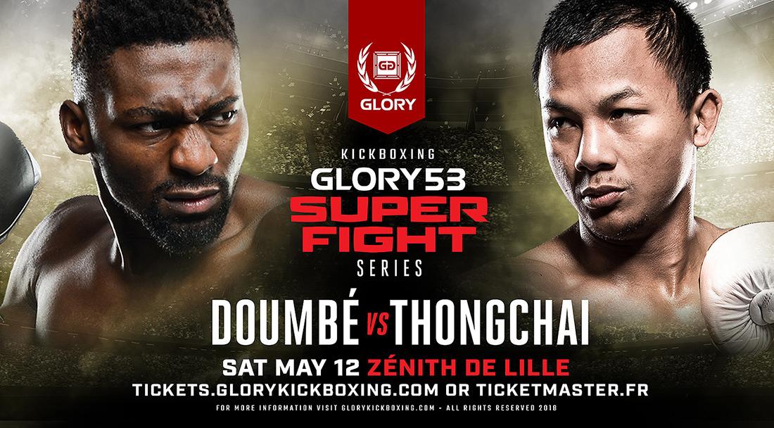 GLORY 53 SuperFight Series Co-Headliner Yousri Belgaroui Battles Polish Kickboxing Champion Dawid Kasperski